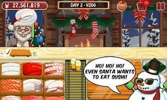 Screenshot of Sushi Friends Christmas Games