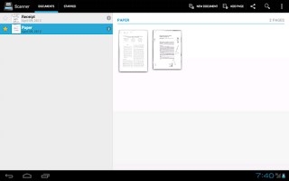 Screenshot of Handy Scanner Pro: PDF Creator