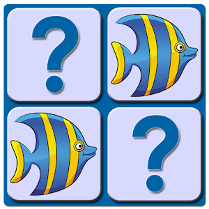 Memory Game Kids - Sea Animals