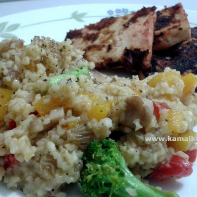 Bulgur Vegetable Summer Salad
