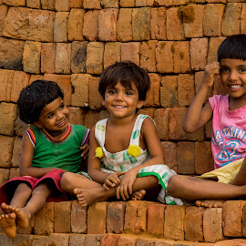 Cute Happiness  by Mukesh Chand Garg - Babies & Children Children Candids ( baby children happiness cute innocence )