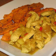 Chicken Breasts With Apple Curry Sauce