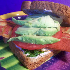 Fried -Egg and Avocado Sandwich