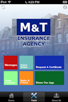 Screenshot of M&T Insurance