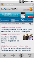 Screenshot of News & Magazines in Spain