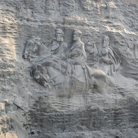The Confederacy by Jon Mercer - Artistic Objects Still Life ( stone mountain;, mountain, carving, georgia, historical )