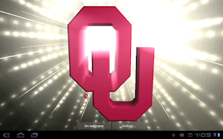 Screenshot of Oklahoma Sooners LWPs & Tone