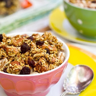Lightened Up Summer Granola