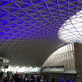 King's Cross Station by Timothy Carney - Buildings & Architecture Other Interior ( railroad station, king's cross, st. pancras, london )