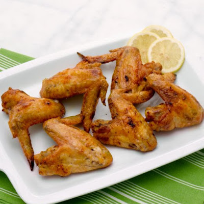 Saffron-Roasted Chicken Wings