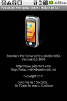 Screenshot of PassMark PerformanceTest