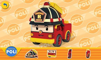 Screenshot of Robocar Poli - Sticker Book 1