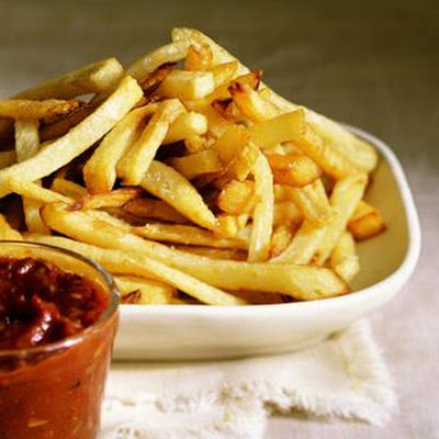 French Fries with Homemade Ketchup