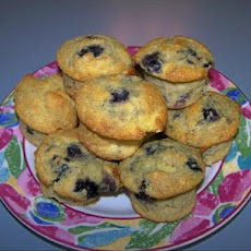 Apple-Blueberry Corn Muffins