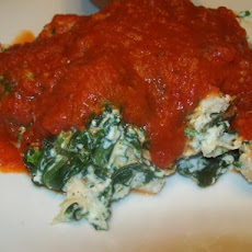 Spinach Ricotta Chicken Bake