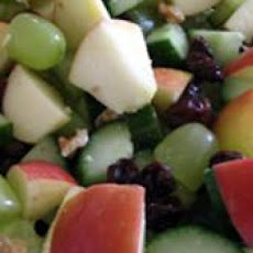Cucumber Fruit Salad