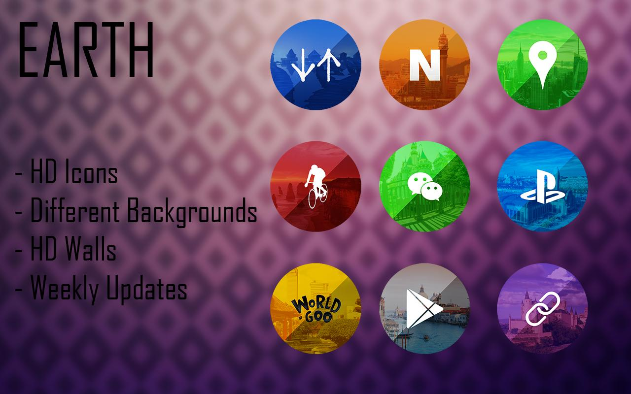 Earth - Icon Pack Screenshot 4