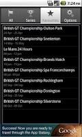 Screenshot of Motorsport Calendar Free