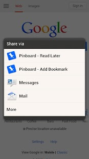 PinDroid Read Later - screenshot