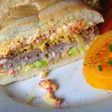 Southern Pimento Cheese Burger by Harold Cohen - Ultimate Burger