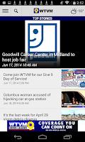 Screenshot of WTVM News 9