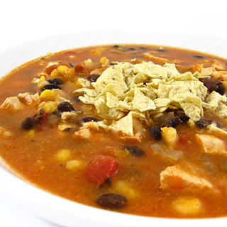 Heavenly Chicken Tortilla Soup