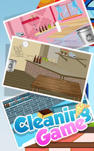 Cleaning Games - screenshot