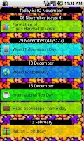 Screenshot of Simple Days List