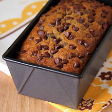 Super-Moist Banana and Chocolate Chip Bread