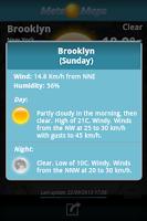 Screenshot of Meteo Maps Weather