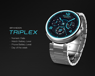 Triplex watchface by Brandon Screenshot