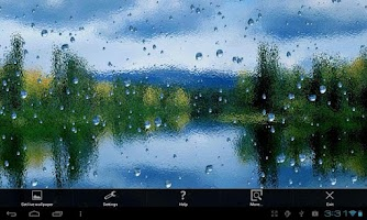 Screenshot of Rain On Screen