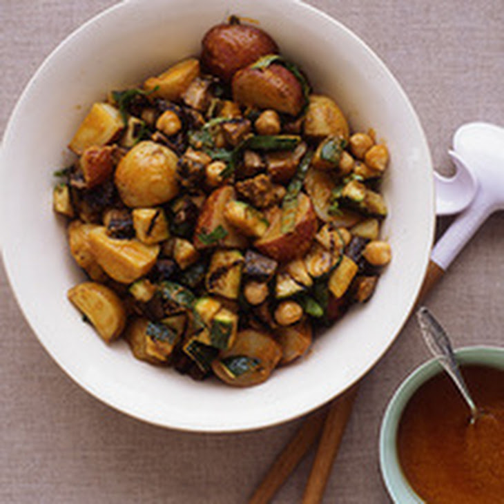 ... Smoked Paprika Vinaigrette And Marcona Almonds Recipe — Dishmaps