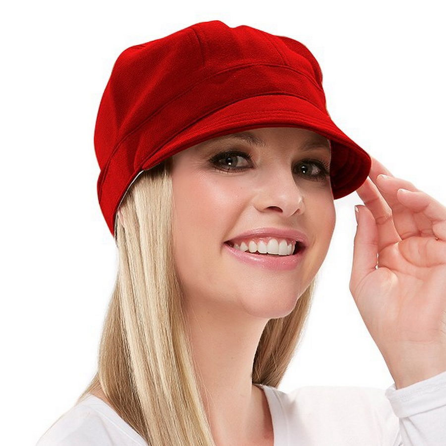 Fleece cap red