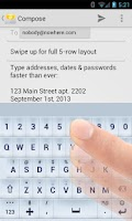 Screenshot of TypeSmart Keyboard