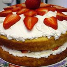 Nannie's Hot Milk Sponge Cake