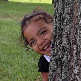 Peek-a-boo by Glenda Welles - Babies & Children Toddlers ( baby, smile, toddler )
