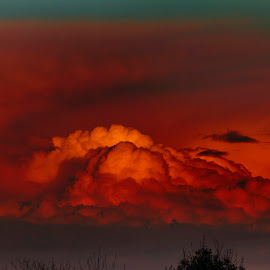 by James Blyth Currie - Landscapes Cloud Formations