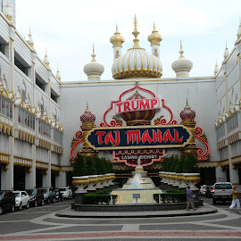 Hotel Taj Mahal; Atlantic City; USA by Thakkar Mj - Buildings & Architecture Office Buildings & Hotels ( taj mahal, atlantic city, casino, hotel, usa,  )