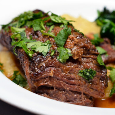 Slow Cooker Korean Grass Fed Short Ribs