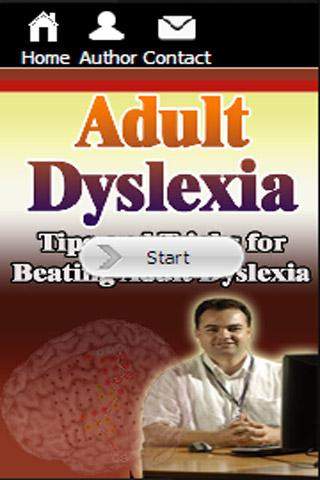 Adult Dyslexia