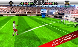 Screenshot of EuroGoal 2012