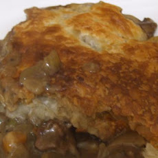 Healthy Steak and Guinness Pie