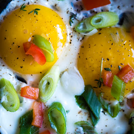 Cooking eggs  by Andre Lindo - Food & Drink Cooking & Baking (  )