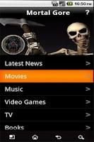 Screenshot of Mortal Gore