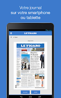Screenshot of Le Figaro: Journal & Magazines