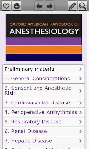 Oxford American H. Anesthesio
