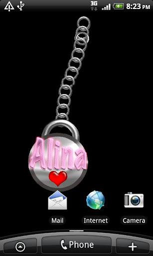 Alina Name Tag