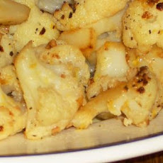 Cauliflower with Garlic and Lemon