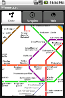 Screenshot of Wiennetz.at - U-Bahn Wien